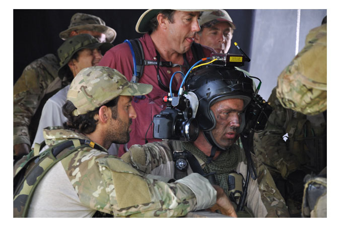 Behind-the-Scenes on the set of Act of Valor, courtesy of Relativity Media