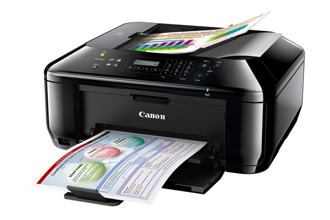 PIXMA MX432 Office All-In-One Printer - 3/4 view