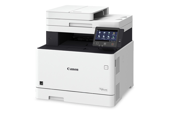 Color imageCLASS MF743Cdw multifunction laser printer - 3/4 angle view