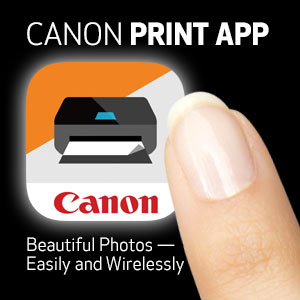 Canon Mobile Printing App for iPhone and iPad This is a free application for Canon imageCLASS, imageRUNNER, imageRUNNER ADVANCE multifunction devices and imageRUNNER single function printers to easily print photographs, images, document files, PDF files, web pages, etc. .