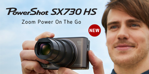 NEW - PowerShot SX730 HS - Zoom Power On the Go