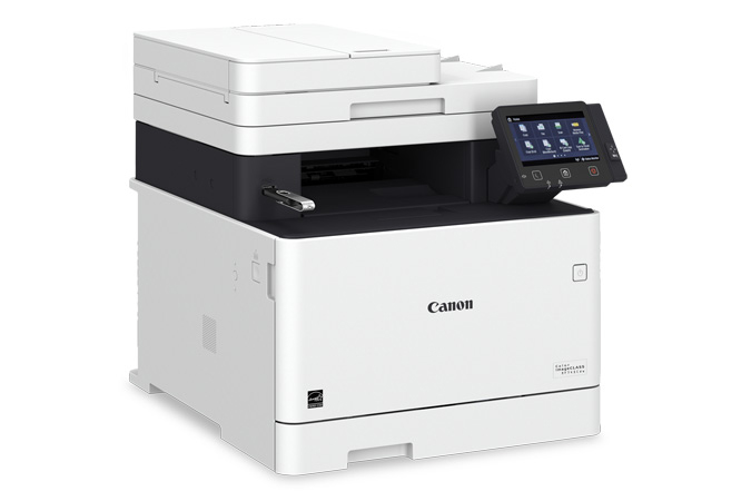 Color imageCLASS MF743Cdw multifunction laser printer - USB in port