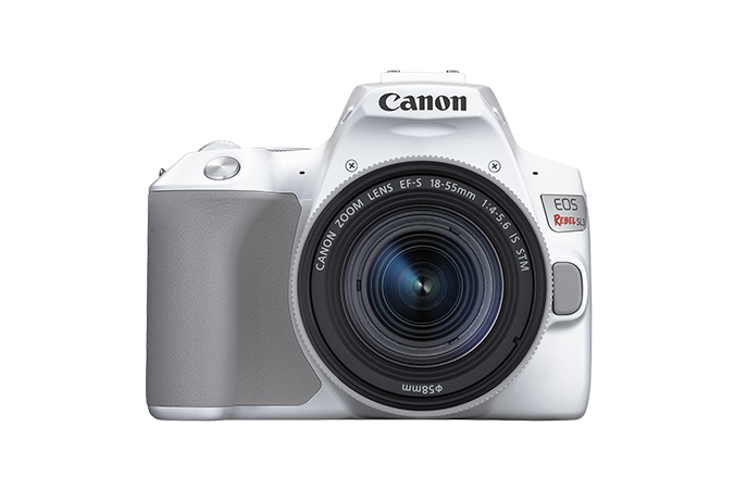 EOS Rebel SL3 (White - Front with Lens)