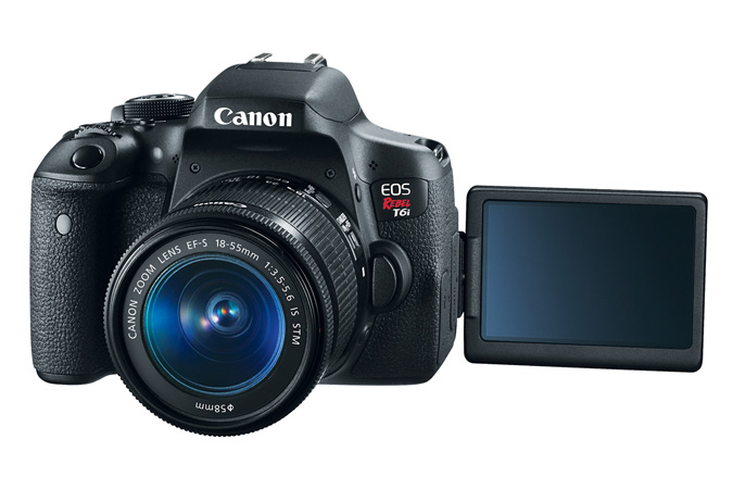 Canon Inc. Marketshare - EOS Rebel T6i