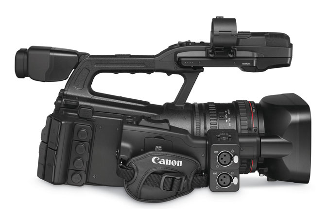 XF305 Professional Camcorder - right view