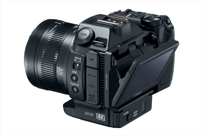XC15 4K Video Camcorder