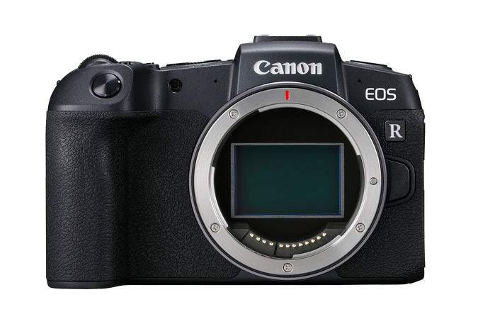 EOS RP without lens (Front angle)