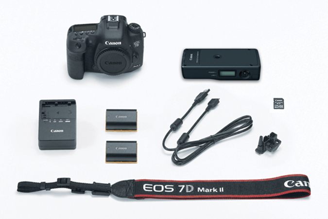 EOS 7D Mark II Studio Version Barcode Solution Kit