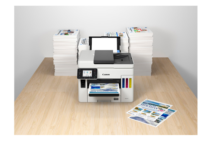 Canon MAXIFY GX7020 - High-Volume Continuous Ink Supply System