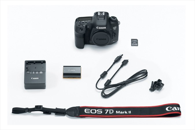EOS 7D MarkII with Wireless Adapter W-E1 kit