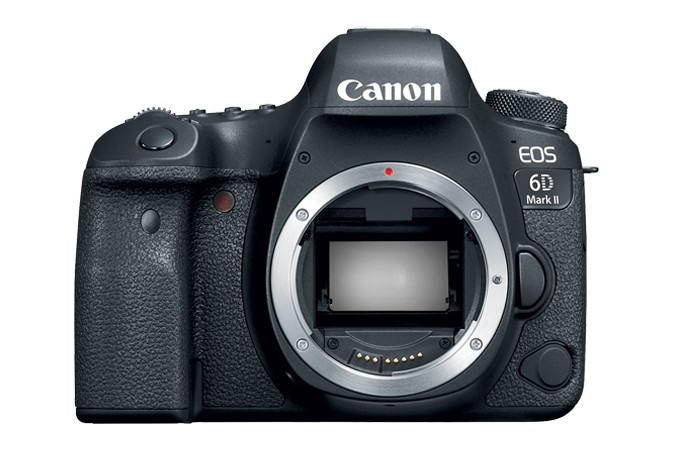 EOS 6D Mark II Front without Lens