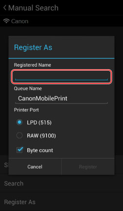 Mobile Solutions | Canon Mobile Printing App for Android Tablets and