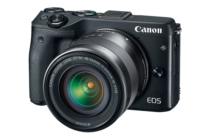 Mirrorless | EOS M3 EF-M 18-55mm IS STM Kit | Canon USA
