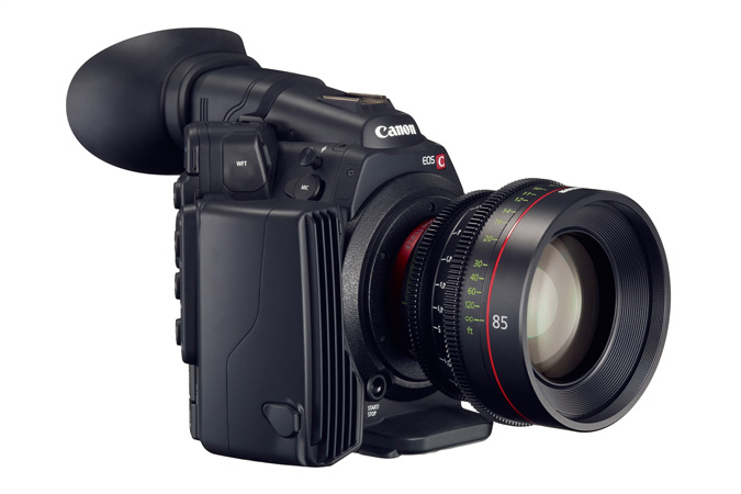 Cinema EOS C500 digital cinematography camera - 3/4 view