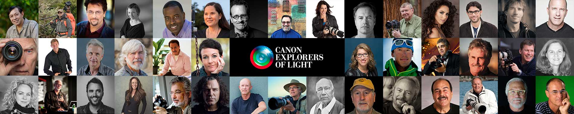 Canon is pleased to launch the new home for the Canon Explorers of Light on the web!