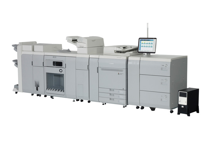 Canon imagePRESS C800 with PRISMAsync Color Print Server