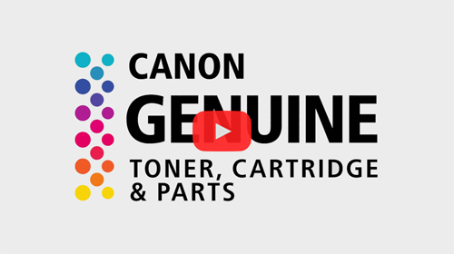 Canon GENUINE Logo Video Image