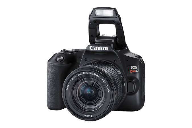 EOS Rebel SL3 (Black - Flash)