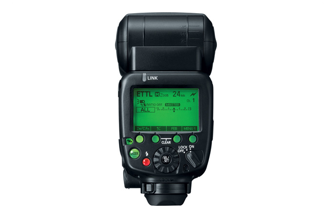 Speedlite 600EX-RT - Back View