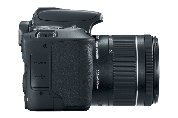 EOS Rebel SL2 Right Side