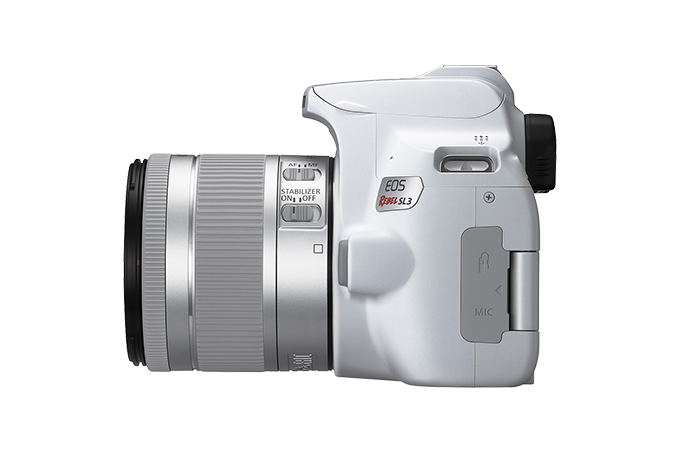 EOS Rebel SL3 (White - Left)