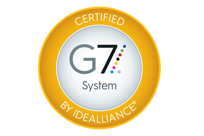 G7 Certification Seal, Idealliance