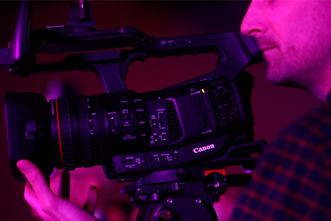 Canon XF705 Hands-On with Charles Zablan