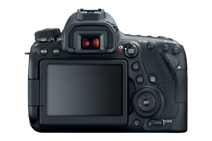 EOS 6D Mark II Rear