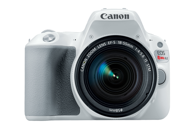 EOS Rebel SL2 White Front