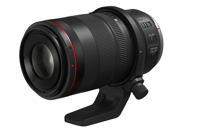 Canon RF100mm F2.8 L MACRO IS USM - With Tripod Mount Ring