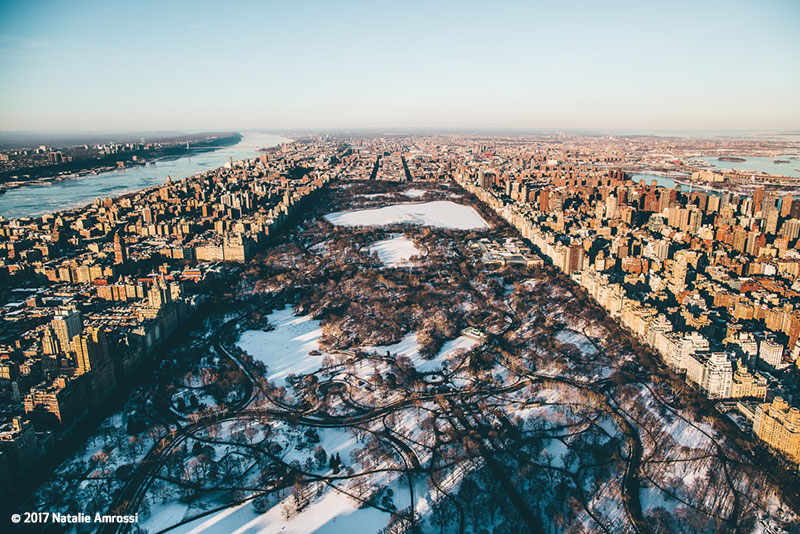 Canon See Impossible - Natalie Amrossi - Central Park Aerial