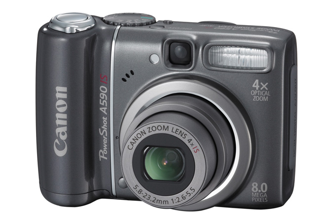 Canon powershot a590is review youtube.