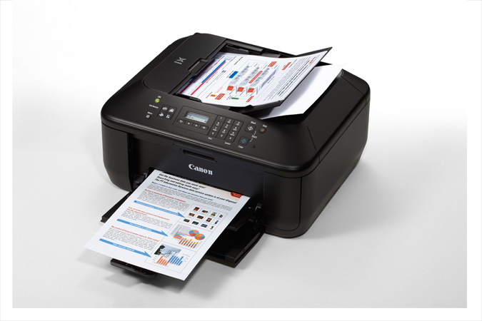 PIXMA MX372 Office All-In-One Printer - 3/4 view