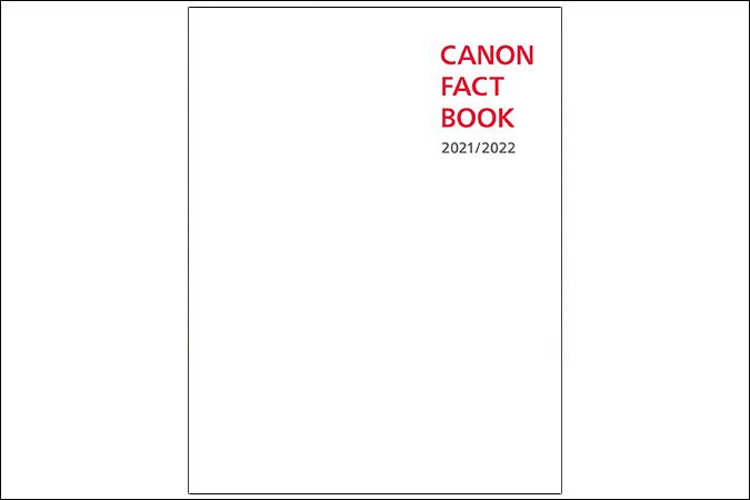 Image of The Canon Fact Book 2018-2019 cover