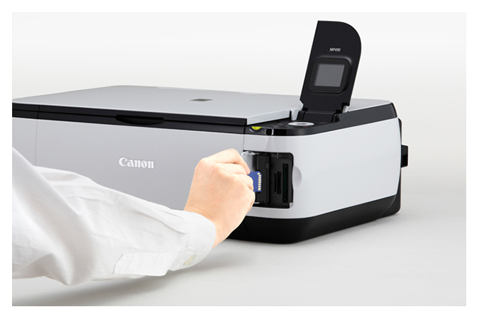 how to connect canon mp490 to wifi