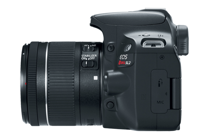 EOS Rebel SL2 Left Side