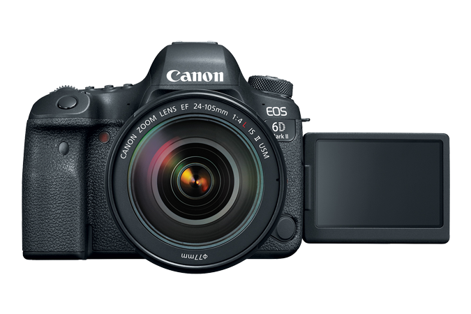 EOS 6D Mark II with Open LCD