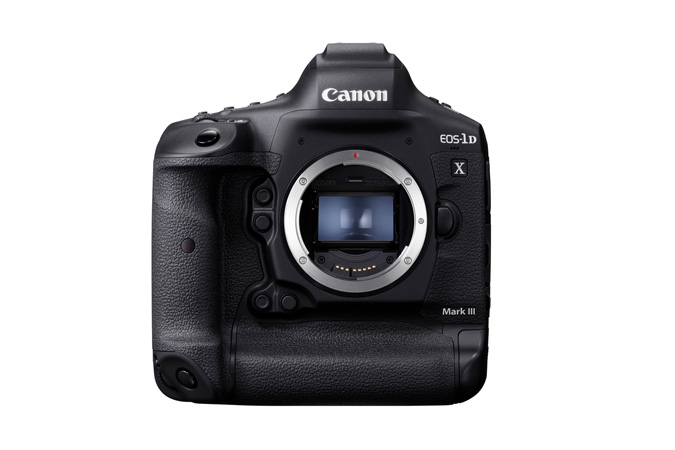 Canon EOS-1D X Mark III Camera -Front Closed