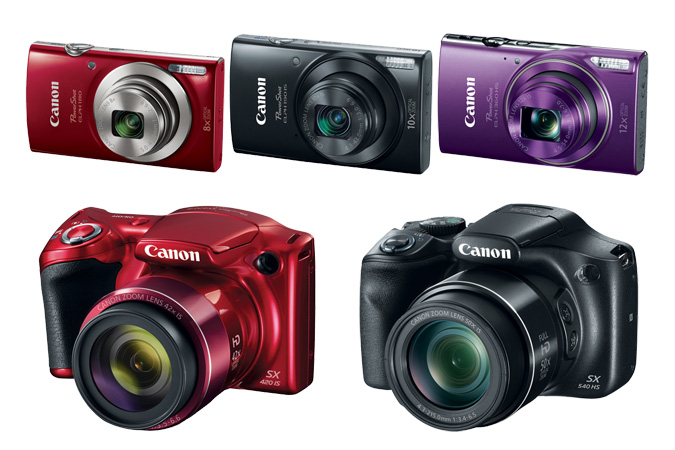 Canon Releases Several Super-Zoom And Compact Cameras At CES 2016