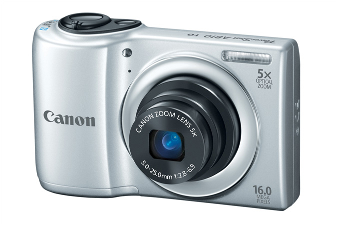 PowerShot A810 digital camera in Silver - 3/4 View
