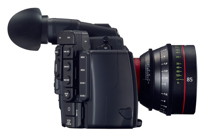 Cinema EOS C500 digital cinematography camera - Left view