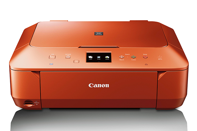 Canon Mg6620 Orange Pixma All In One Printer And Scanner Pixma