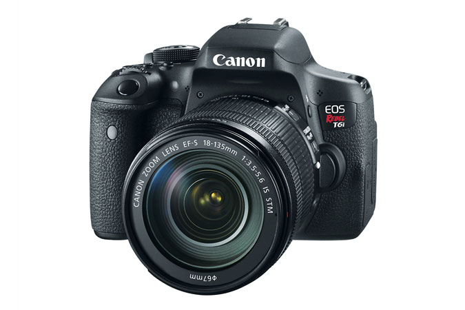 EOS Rebel T6i EF-S 18-135mm IS STM Lens Kit