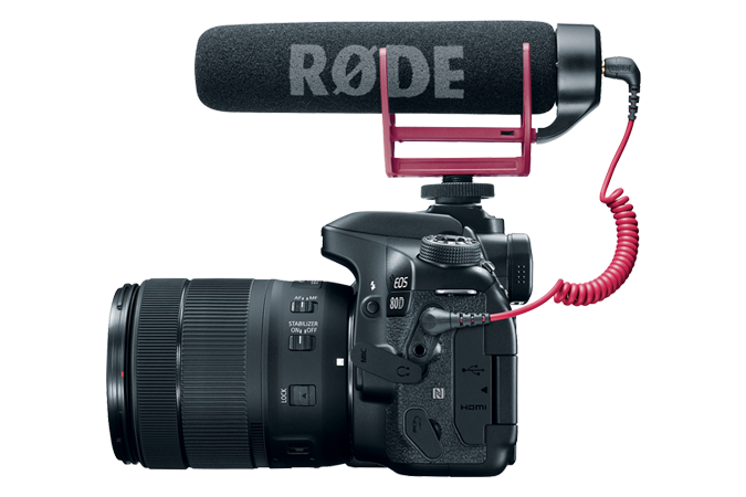 EOS 80D Video Creator Kit