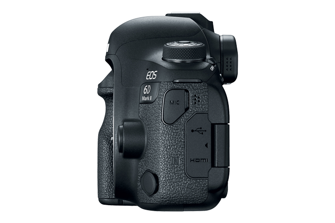 EOS 6D Mark II Left Side