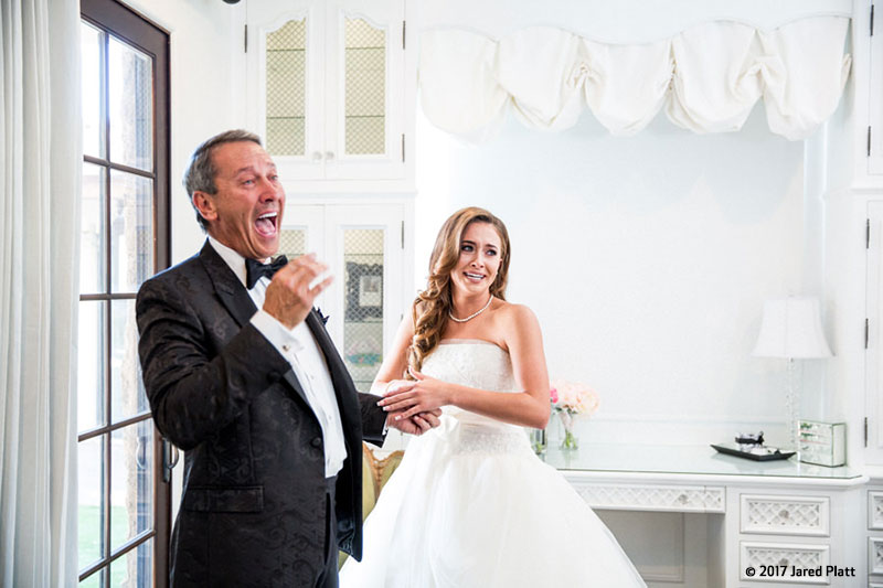 Canon See Impossible - Jared Platt - Father and Bride Laughter