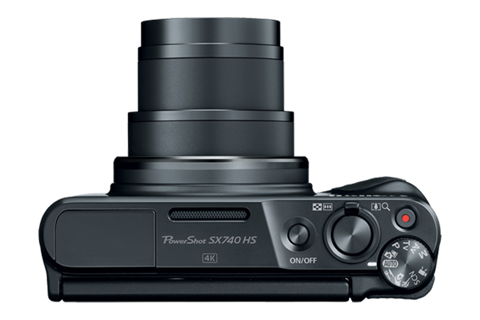 PowerShot SX740 HS (Black) Top
