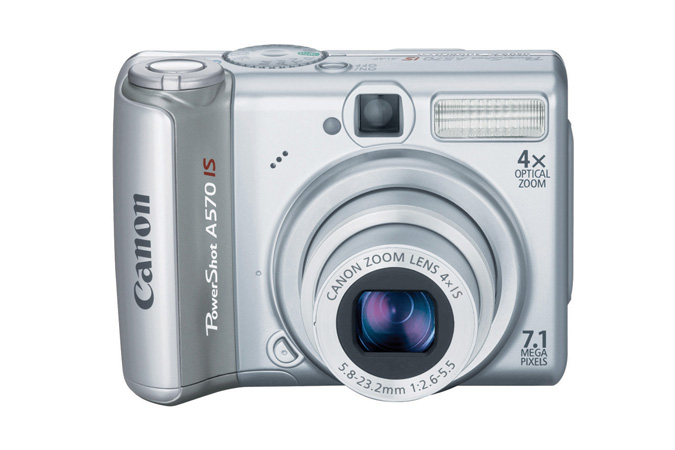 Canon PowerShot A570 IS ordered