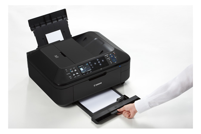 how to connect a printer with an office line canon