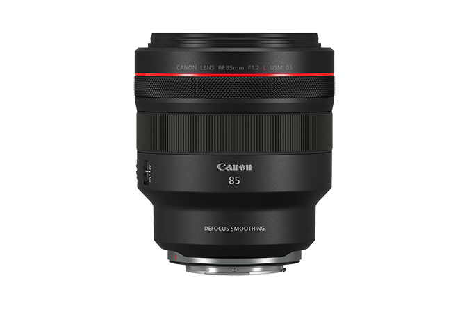 RF 85mm F1.2 L USM DS lens